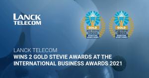 lanck telecom gold stevie award international business awards